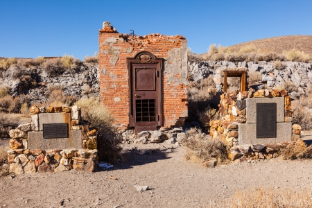 mining town: Bodie is a ghost town in the Bodie Hills east of the Sierra Nevada mountain range in Mono County, California, United States Editorial