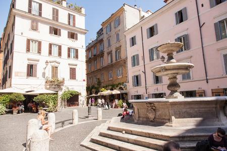 Piazza della Madonna dei Monti takes its name from the church of Santa Maria dei Monti, best known as Madonna dei Monti.