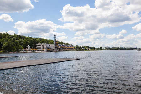 long lake: Lake Malta is an artificial lake in Poznań, Poland. It is about 2.2 km long, which makes the lake the biggest man-made lake of the city. Editorial