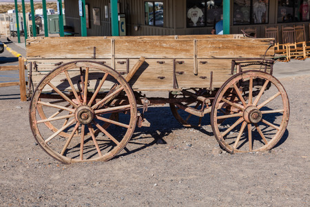 Buckboard is a four-wheeled wagon of simple construction meant to be drawn by a horse or other large animal.