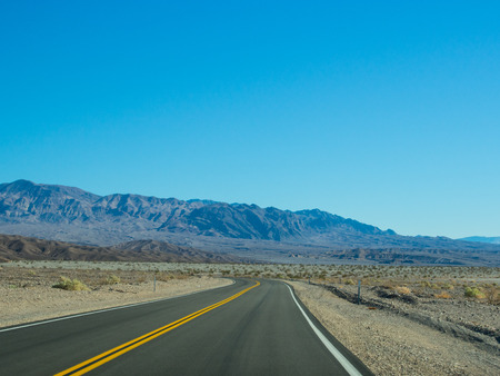 Route 190 near Death Valley National Park Visitors center photo