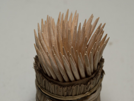 toothpick: Toothpick is a small stick of wood