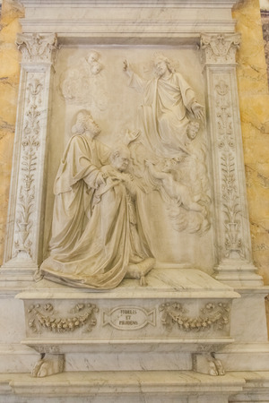 Inside Sacristy building attached to St. Peter's Basilica.
