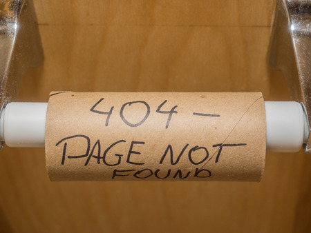 The 404 or Not Found error message is a HTTP standard response code indicating that the client was able to communicate with the server, but the server could not find what was requested. Stock Photo