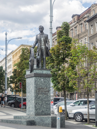 activist: Statue of Hipolit Cegielski, Polish businessman and social and cultural activist