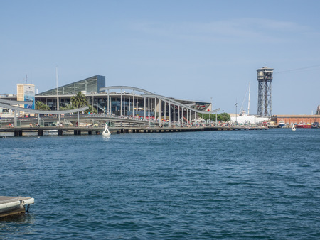 centers: Maremagnum is a mall in Port Vell, Barcelona containing shops, a multiplex cinema, bars and restaurants