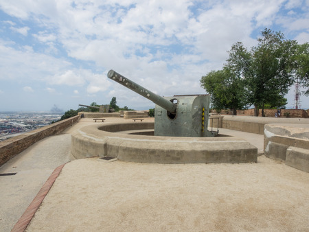 Montjuïc Castle Is An Old Military Fortress Built On Top Of Montjuïc Idea