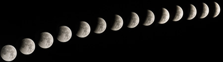 Lunar eclipse occurs when the Moon passes directly behind the Earth into its umbra (shadow). photo