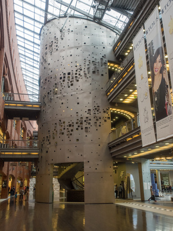 Stary Browar Center is a combination of retail space and an art gallery.