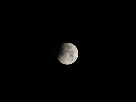 occurs: Lunar eclipse occurs when the Moon passes directly behind the Earth into its umbra (shadow).