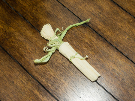 husk: Corn husk doll is a Native American toy, a doll made out of the dried leaves or husk of a corn cob.