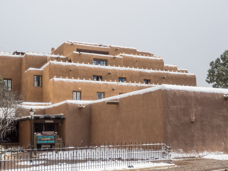 nm: Inn and Spa at Loretto is a resort with pueblo-inspired architecture in Santa Fe, NM. Editorial