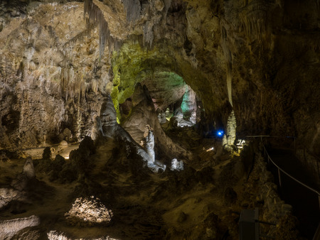 large formation: Carlsbad Caverns National Park is a United States National Park in the Guadalupe Mountains in southeastern New Mexico.