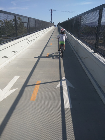 extends: The Permanente Creek Trail is a multi-use trail that extends from Shoreline At Mountain View