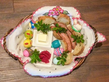 enduring: ÅšwiÄ™conka meaning the blessing of the Easter baskets, is one of the most enduring and beloved Polish traditions on Holy Saturday. The tradition of food blessing at Easter, which has early-medieval roots in Christian society, possibly originated from a