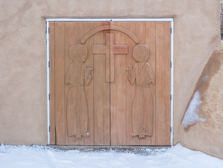 San Francisco de Asis Mission Church is a church built between 1772 and 1816. It is located on the plaza in Ranchos de Taos.