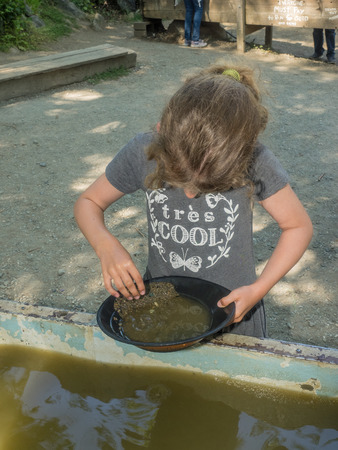 prospector: Gold panning is a form of placer mining and traditional mining that extracts gold from a placer deposit using a pan.
