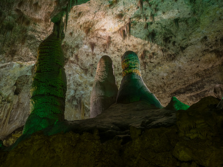 carlsbad: Carlsbad Caverns National Park is a United States National Park in the Guadalupe Mountains in southeastern New Mexico.