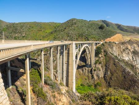 bixby: Bixby Creek Bridge is a reinforced concrete open-spandrel arch bridge in Big Sur, California.