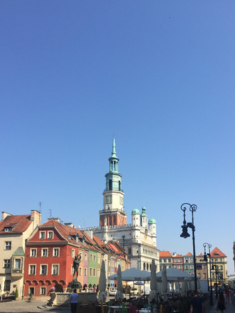 centred: Old Market Square (Stary Rynek) is the large square on which the Old Town neighbourhood is centred. Editorial