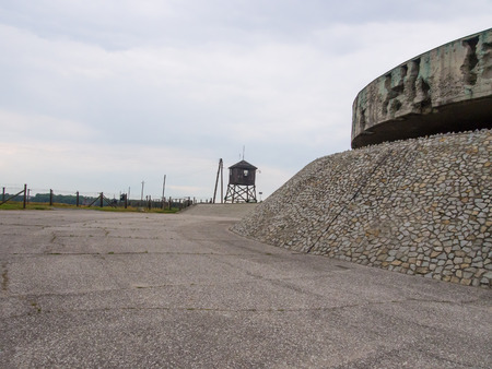 cremated: German concentration and extermination camp contains ashes and remains of cremated victims.