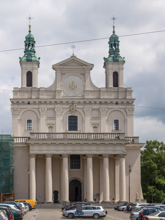 baptist: Cathedral of St. John the Baptist in Lublin, Poland