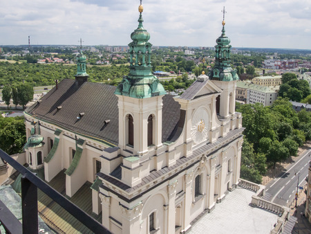 evangelist: Cathedral of St. John the Baptist in Lublin, Poland