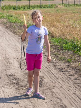 stroll: Summer stroll through farmland in Poland.