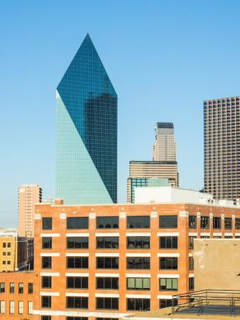dallas: Fountain Place is a 60-story late-modernist skyscraper in downtown Dallas, Texas.