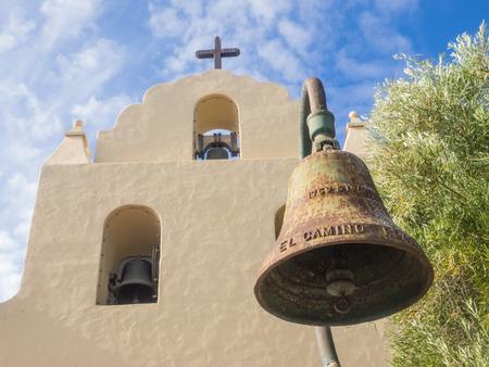 mision: Misión de Santa Inés es una misión española en la actual ciudad de Solvang, California Foto de archivo