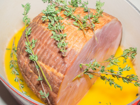 sweetly: Sweetly seasoned ham roasted with moist heat is a delicious way to celebrate special occasions.