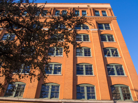 depository: Sixth Floor Museum is located on the sixth floor of the Dallas County Administration Building (formerly the Texas School Book Depository) in downtown Dallas, Texas, overlooking Dealey Plaza at the intersection of Elm and Houston Streets.