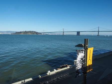 oakland: San Francisco–Oakland Bay Bridge is a complex of bridges spanning San Francisco Bay in California.