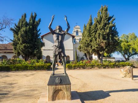 Mission San Juan Bautista is a Spanish mission in San Juan Bautista, San Benito County, California.