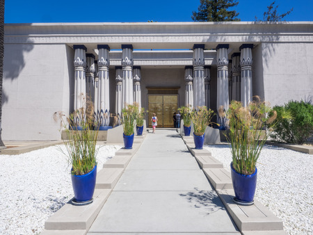 crucis: Rosicrucian Egyptian Museum is a museum about Ancient Egypt located at Ancient Mystical Order Rosae Crucis Rosicrucian Park in the Rose Garden neighborhood of San Jose, California.