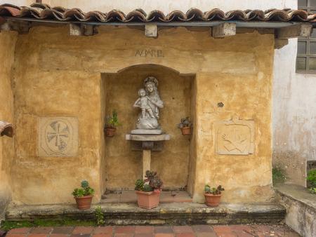 borromeo: Mission Carmel is a Roman Catholic mission church in Carmel-by-the-Sea, California.