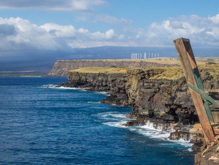 ka: Ka Lae is the southernmost point of the Big Island of Hawaii and of the 50 United States.