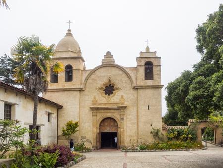 Mission Carmel is a Roman Catholic mission church in Carmel-by-the-Sea, California. Banco de Imagens - 62083054