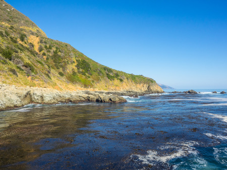 shipped: Partington Cove holds a special piece of Big Sur history. Much of the tan bark and lumber was shipped out of this cove. There is a tunnel that goes through the ridgeline that opens into a beautiful cove which still has parts of the shipping tools bolted t