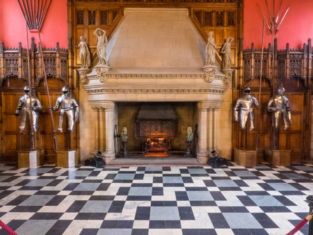 assembly hall: Great Hall was the chief place of state assembly in the Edinburgh Castle.