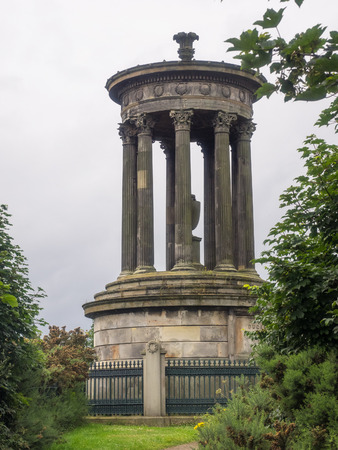 Dugald Stewart Monument is a memorial to the Scottish philosopher Dugald Stewart. It is situated on Calton Hill overlooking Edinburgh city.