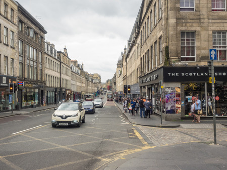 mile high city: South Bridge is a bridge in Edinburgh, Scotland, starting at the High Street and finishing at Chambers StreetInfirmary Street.