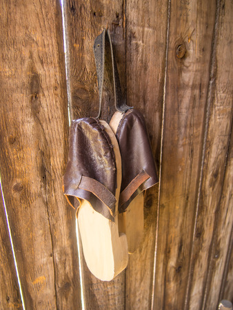 Clogs are a type of footwear made in part or completely from wood. Clogs are used worldwide and although the form may vary by culture, within a culture the form often remained unchanged for centuries.