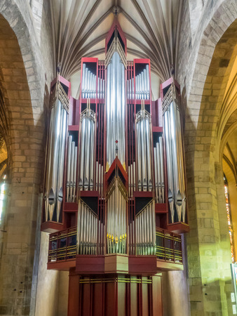 principal: Catedral de St Giles es el principal lugar de culto de la Iglesia de Escocia en Edimburgo.