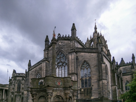 mile high city: St Giles Cathedral is the principal place of worship of the Church of Scotland in Edinburgh.