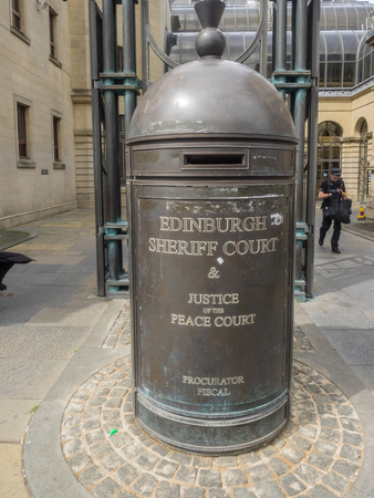 judicial: The main Sheriff Court in Edinburgh provides local court service for a sheriffdom, a judicial district in Scotland.