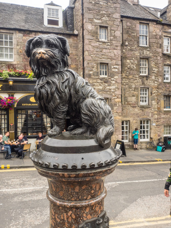 bobby: Greyfriars Bobby was a Skye Terrier who became known in 19th-century Edinburgh for supposedly spending 14 years guarding the grave of his owner until he died himself.