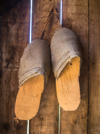 remained: Clogs are a type of footwear made in part or completely from wood. Clogs are used worldwide and although the form may vary by culture, within a culture the form often remained unchanged for centuries.