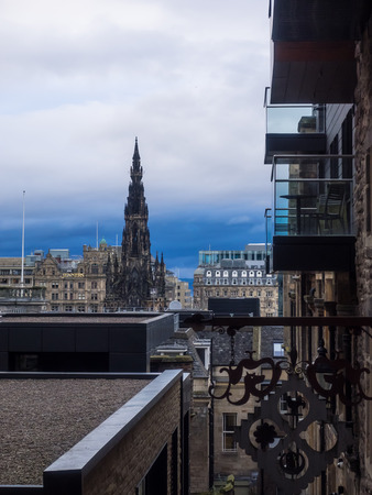 walter scott: Advocates Close issteep and narrow close that offers attractive views to Princes Street and the Scotts Monument.