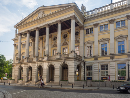 Wroclaw Opera is an opera company and opera house in Wroclaw, Poland.